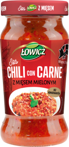 ŁOWICZ SOS CHILI CON CARNE 350G