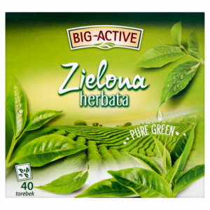 BIG-ACTIVE HERBATA ZIELONA PURE GREEN 40TB