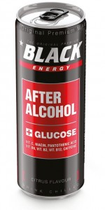 BLACK ENERGY AFTER ALKOHOL 250ML/4SZT