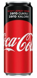 COCA COLA ZERO 330ML/24SZT