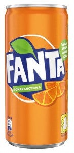 FANTA ORANGE 200ML/24SZT