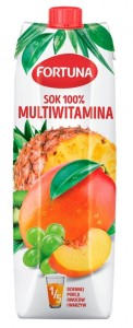 FORTUNA SOK 100% MULTIWITAMINA 1L/6SZT