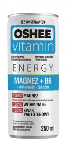 OSHEE VITAMIN SHOT MAGNEZ+VITAMINA B6 250ML/6SZT