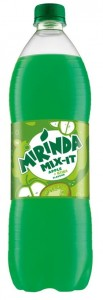 MIRINDA APPLE-KIWI 1L/15SZT