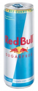 RED BULL SUGARFREE 250ML/24SZT