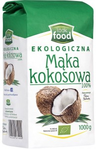 LOOK FOOD MĄKA KOKOSOWA EKO 1KG