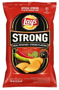 LAYS STRONG CHILI&LIME 130G