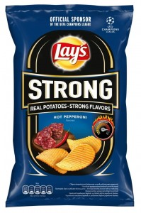 LAYS STRONG PEPPERONI 130G