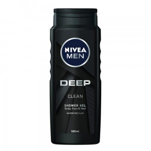 NIVEA ŻEL POD PRYSZNIC DEEP CLEAN 500 ML