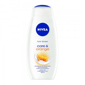 NIVEA ŻEL POD PRYSZNIC CARE & ORANGE 500 ML
