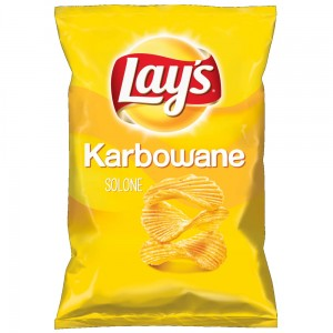 LAYS KARBOWANE SOLONE 130G