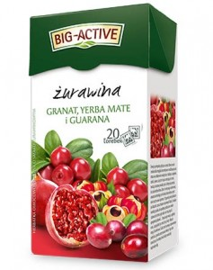 BIG-ACTIVE ŻURAWINA-YERBA MATE-GUARANA 20TB