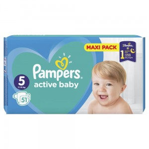 PAMPERS PIELUCHY ACTIVE BABY S5 51SZT