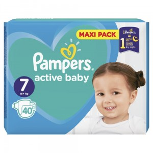 PAMPERS PIELUCHY ACTIVE BABY S7 40SZT