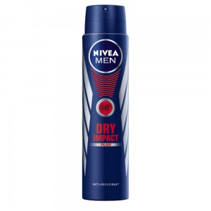 NIVEA MĘSKI ANTYPERSPIRANT DRY IMPACT SPRAY 250 ML