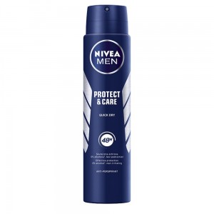 NIVEA MĘSKI ANTYPERSPIRANT PROTECT & CARE SPRAY 250 ML