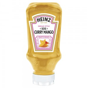 HEINZ SOS CURRY MANGO 220ML
