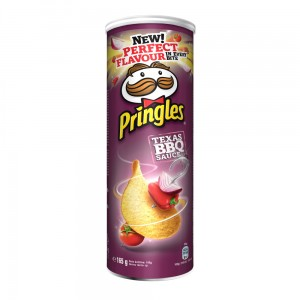 PRINGLES BARBEQUE 165G