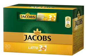 JACOBS LATTE 3IN1 12,5GX20